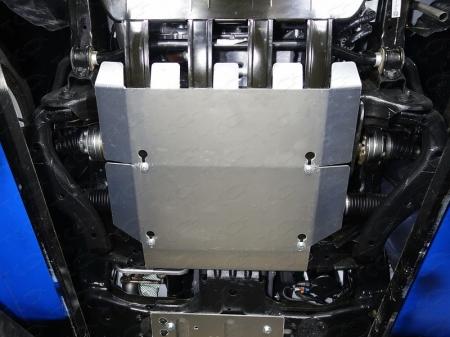 Volkswagen Amarok 2016-Защита картера (алюминий) 4 мм